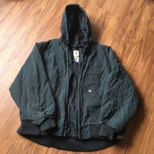 Vintage distressed carhartt jacket